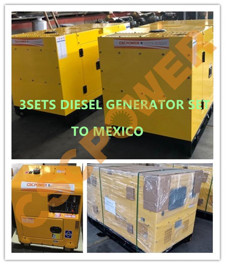 3台发电机组出墨西哥